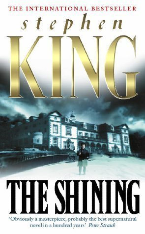 Book cover for The Shining by Stephen King.