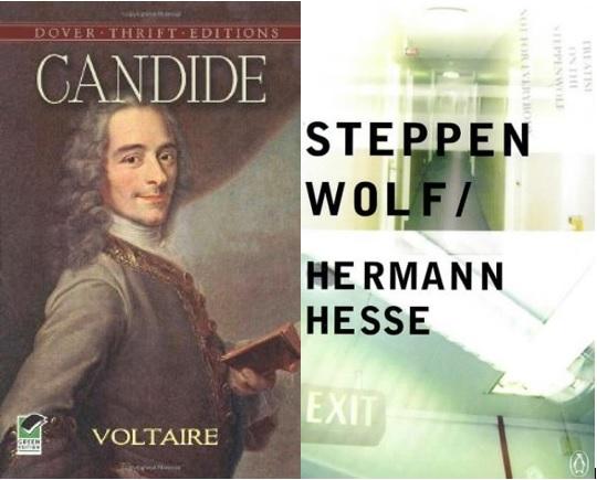 Candide vs. Steppenwolf.