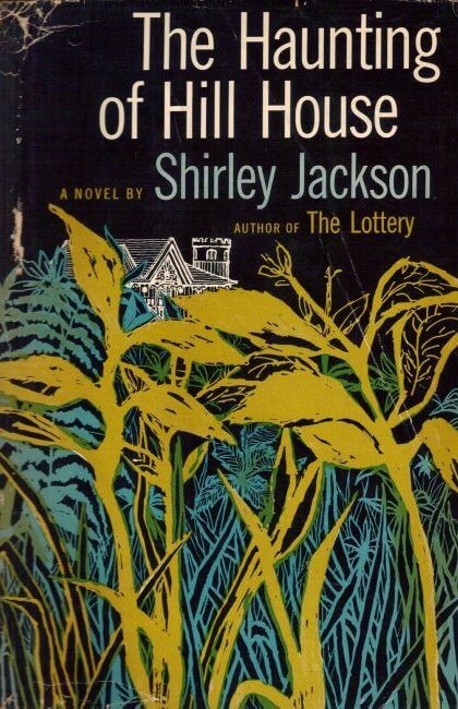 Book cover for The Haunting of Hill House by Shirley Jackson.