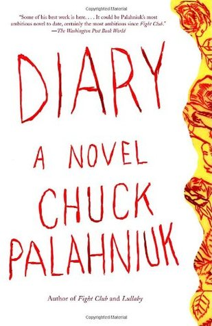 "Book cover of ""Diary"" by Chuck Palahniuk."